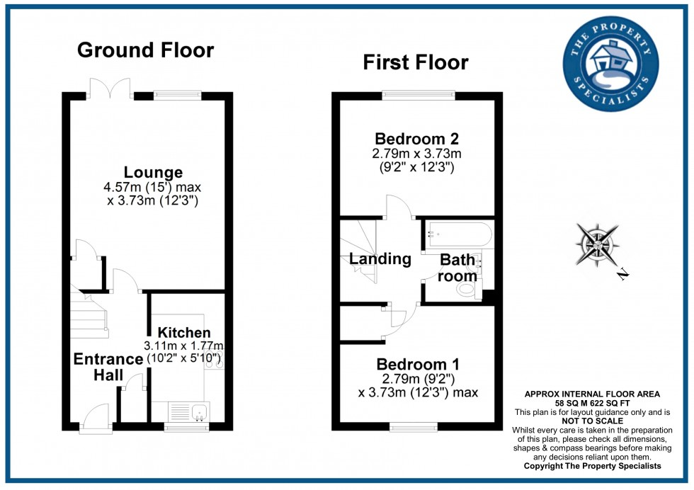 Floorplan for Froden Brook, Billericay, Essex